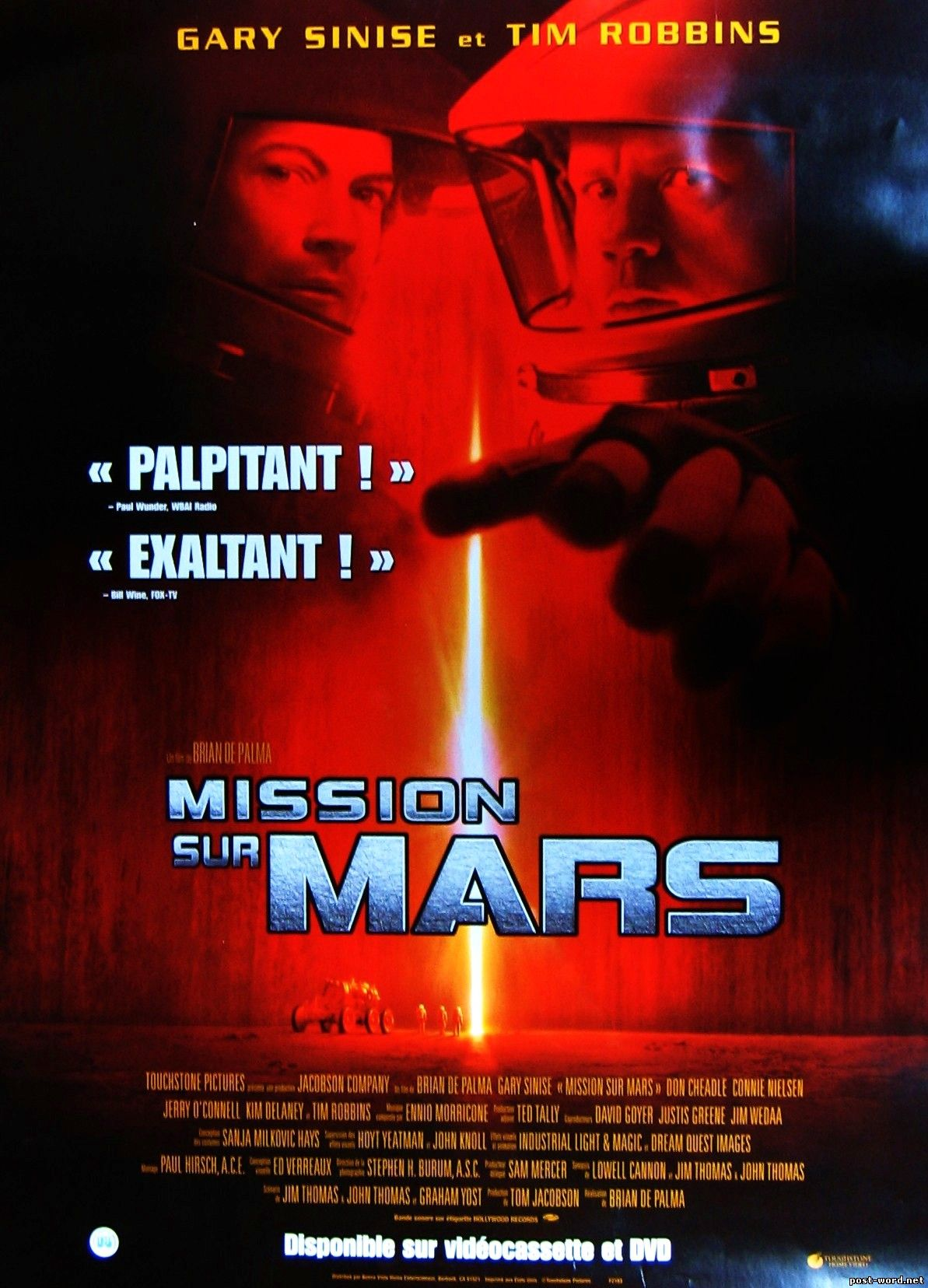 Escape From Mars [1999 TV Movie]